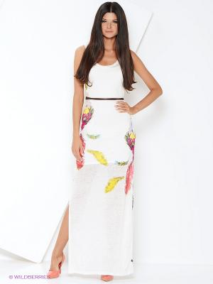 Платье Anna Scott. Цвет: белый