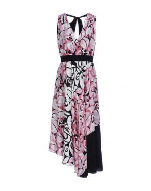 Платье длиной 3/4 BEATRICE. B. Цвет: розовый
