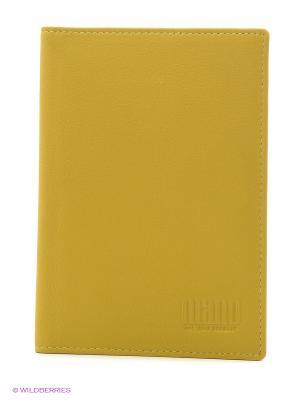 Обложка для паспорта Mano. Цвет: салатовый