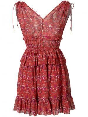 Платье Noelle Ulla Johnson. Цвет: красный