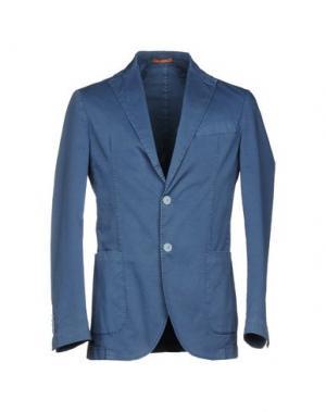 Пиджак MAESTRAMI. Цвет: пастельно-синий