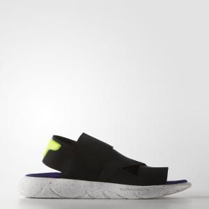 Сандалии Y-3 Qasa by adidas. Цвет: черный
