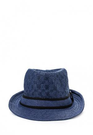 Шляпа Piazza Italia. Цвет: синий