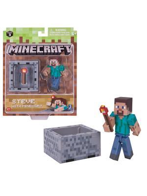 Игровой набор MINECRAFT  Стив с аксесс.. Цвет: прозрачный