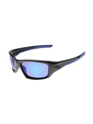 Солнцезащитные очки Gusachi. Цвет: черный, синий