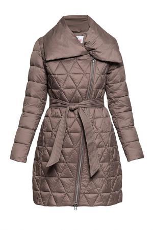 Пальто ODRI Mio. Цвет: светло-коричневый