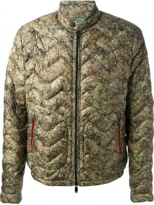 Куртки Moncler W. Цвет: зелёный
