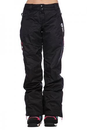 Штаны сноубордические женские  Darling Pant Black Picture Organic. Цвет: черный