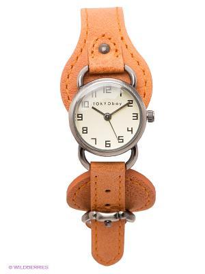 Часы TOKYObay. Цвет: рыжий