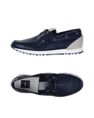 Обувь на шнурках SAX. Цвет: темно-синий