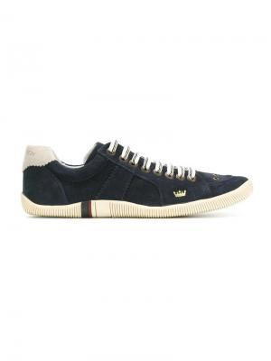 Кроссовки с панельным дизайном Osklen. Цвет: синий