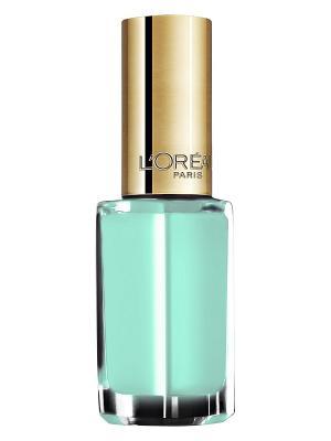 Лак для ногтей Color Riche, оттенок 142, Французская Ривьера, 5 мл L'Oreal Paris. Цвет: бирюзовый