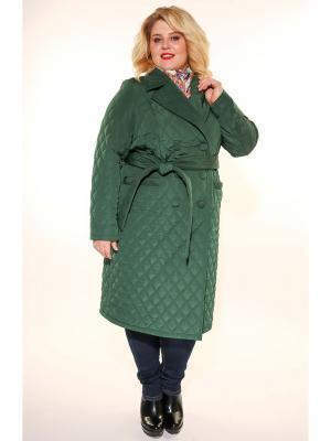 Пальто Jetty-plus. Цвет: зеленый