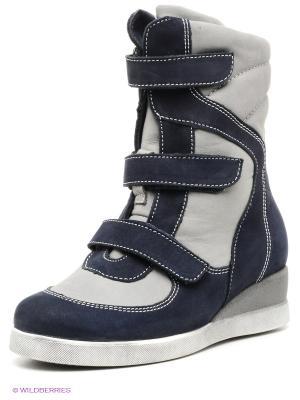 Ботинки ShagoVita. Цвет: темно-синий