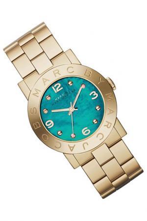 Часы Marc Jacobs. Цвет: gold, turquoise