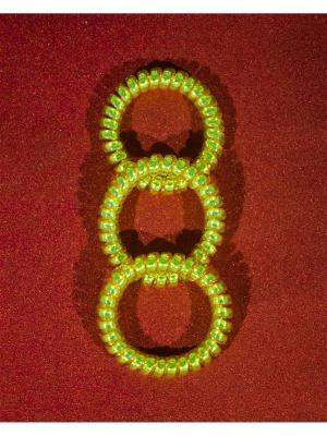 Резинка пружинка Bizon. Цвет: золотистый