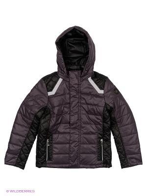 Куртка Disvey. Цвет: темно-фиолетовый