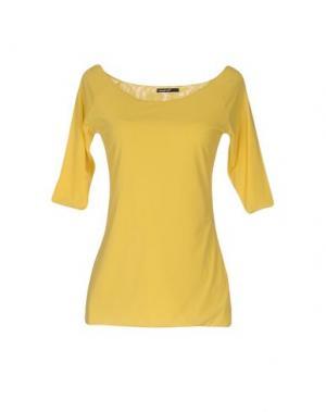 Футболка ALMERIA. Цвет: желтый