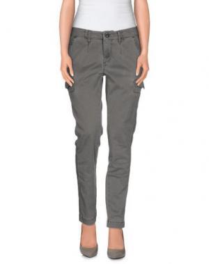 Повседневные брюки ROMANO RIDOLFI. Цвет: серый