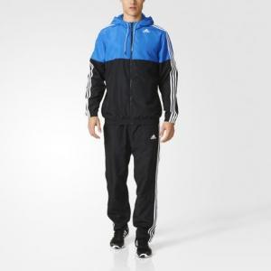Спортивный костюм Trainer Adidas Athletics. Цвет: black / blue