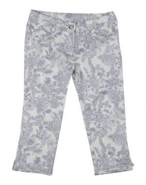 Повседневные брюки PAESAGGino. Цвет: белый