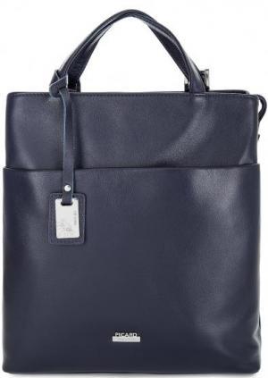 Сумка-рюкзак синего цвета Picard. Цвет: синий