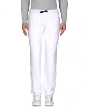Повседневные брюки COOPERATIVA PESCATORI POSILLIPO. Цвет: белый