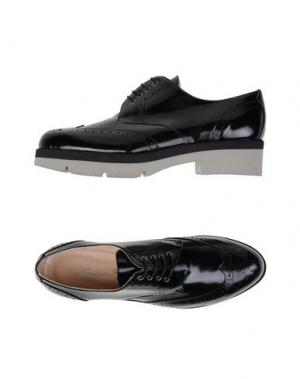 Обувь на шнурках GIORDANA F.. Цвет: черный