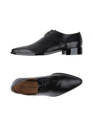 Обувь на шнурках VERONIQUE BRANQUINHO. Цвет: черный