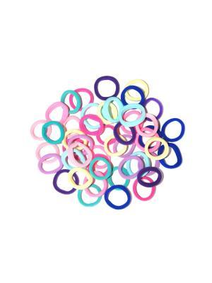 Резинки, 24 шт Lola. Цвет: розовый, синий, голубой