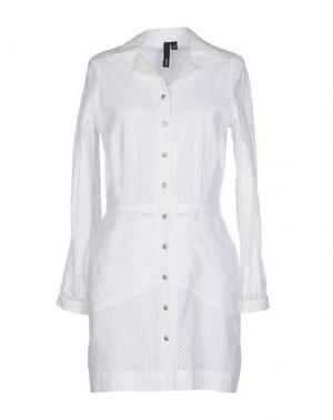 Легкое пальто EDUN. Цвет: белый