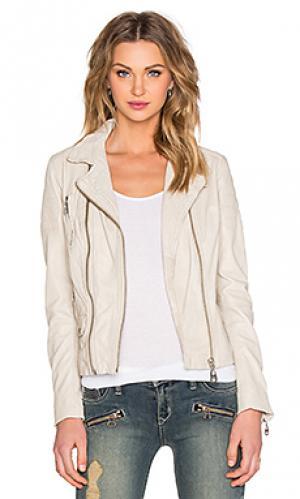 Мото куртка DOMA. Цвет: беж