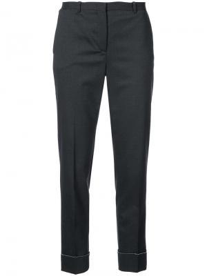 Укороченные брюки Fabiana Filippi. Цвет: серый