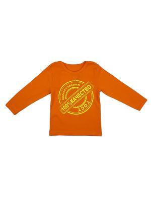 Джемпер Апрель. Цвет: оранжевый, желтый