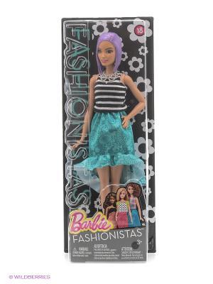 Кукла из серии Игра с модой Barbie. Цвет: бирюзовый
