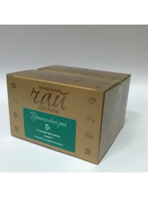 Чай для Ванн минеральный Тропический рай РЕГЕНЕРИРУЮЩИЙ с экстрактами кокоса и манго, 2 шт Spa Travel. Цвет: прозрачный