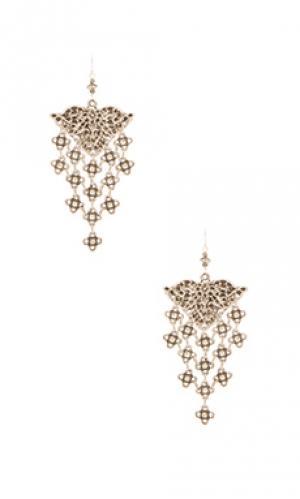 Серьги ceren Natalie B Jewelry. Цвет: металлический серебряный