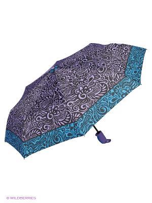 Зонты J&Elisabeth. Цвет: голубой, фиолетовый