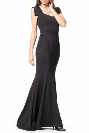 Вечернее платье Ironi. Цвет: черный