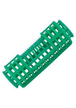 Бигуди-пластиковые для волос в комплекте (12 шт.) melon Pro. Цвет: зеленый