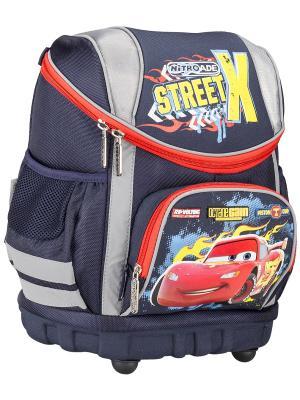 Рюкзак профилактический. Disney Cars. Цвет: желтый, синий, красный