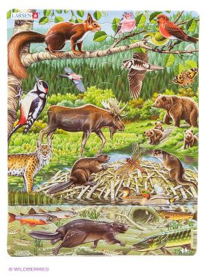 Северный лес LARSEN AS. Цвет: зеленый