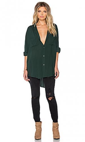Рубашка с застёжкой на пуговицах the shirt Stillwater. Цвет: зеленый