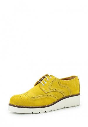 Ботинки Ana Lublin. Цвет: желтый