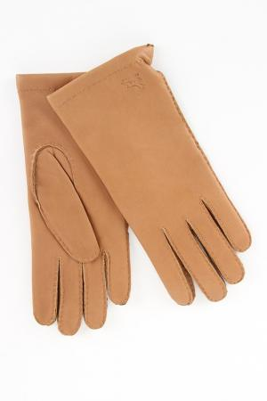 Перчатки Eleganzza. Цвет: песочный