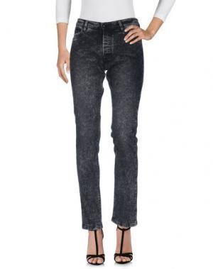 Джинсовые брюки THE KOOPLES. Цвет: черный