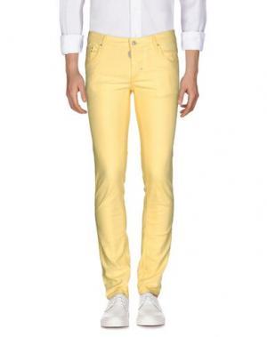 Джинсовые брюки ANTONY MORATO. Цвет: желтый