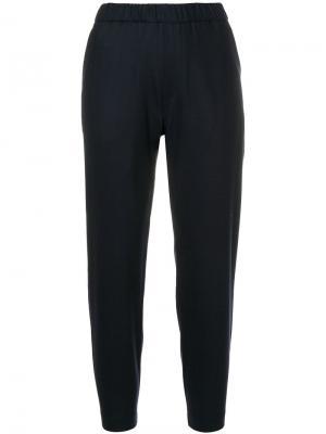 Суженные брюки Barena. Цвет: синий