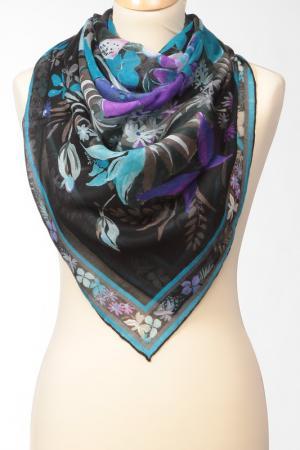Платок Leonard. Цвет: черный, синий, голубой