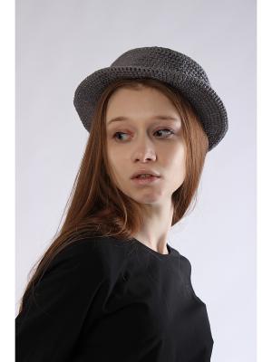 Шляпа EMMY. Цвет: темно-серый